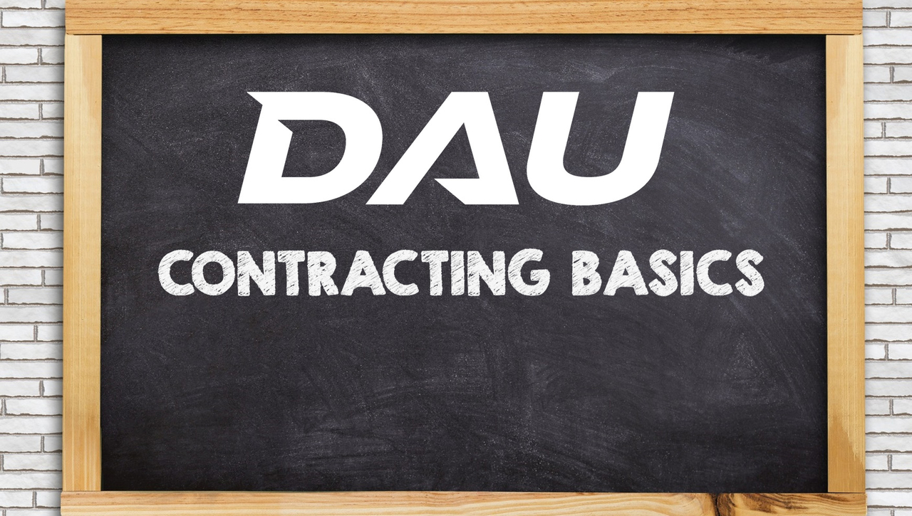 The Contracting Subway Map - A Contracting Basics Session