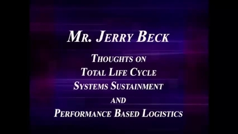 Thumbnail for entry Jerry Beck Thoughts on PBL