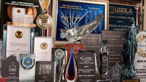 DAU Awards from 2001 to 2014