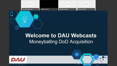 Thumbnail for entry Acquisition Topics Moneyballing DoD Acquisition 6.1.21