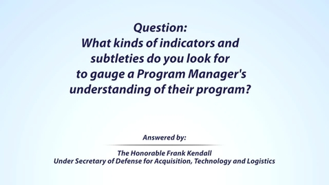 Thumbnail for entry Kendall Leadership Question 4 of 5