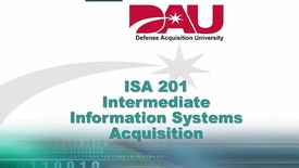 Thumbnail for entry ISA201 Lesson 8 Cybersecurity