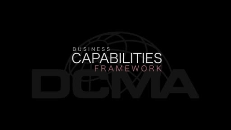 Thumbnail for entry DCMA Business Capabilities Framework Video with Ms. Marie Greening, DCMA Deputy Director