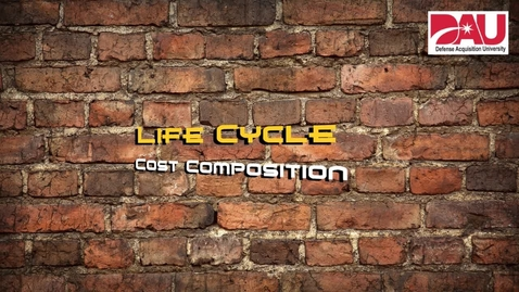 Thumbnail for entry Life Cycle Cost Composition