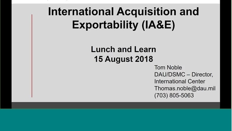DAU L&L -   International Acquisition and Exportability _2