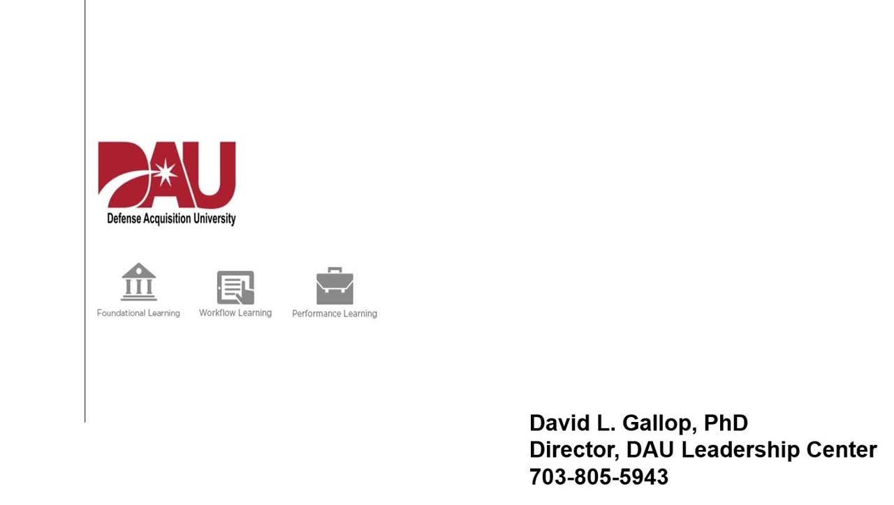 Acquisition Leader Development Initiative (ALD) v2