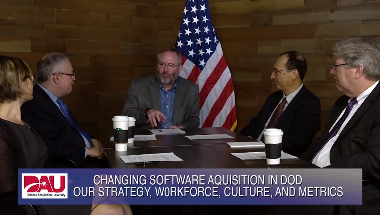 Changing Software Acquisition in DoD - Roundtable with the Defense Innovation Board