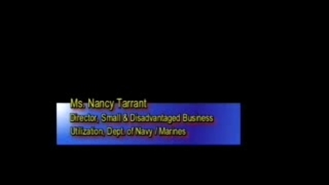 Thumbnail for entry Navy Small Business Program