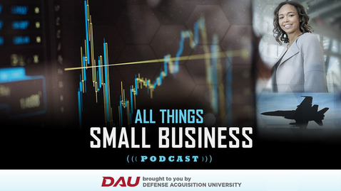 Thumbnail for entry All Things Small Business: Leslie Faircloth, Navy Small Business Professional