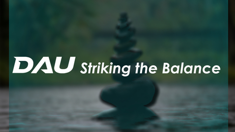 Thumbnail for entry Performance Based Payments - A Striking the Balance Event