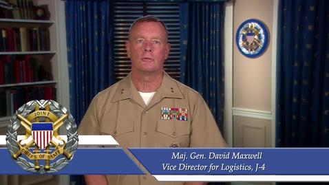 Thumbnail for entry Maj. Gen. David Maxwell talks Additive Manufacturing for DAU FUEL