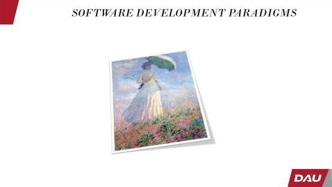 Thumbnail for entry Basics on Software Development Paradigms