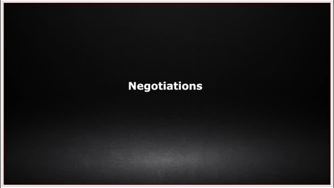 Thumbnail for entry CLC139 Video 7.4 Negotiations