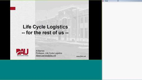 Thumbnail for entry Lunch & Learn Life Cycle Logistics for the Rest of Us-20180725 1638-2