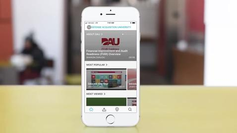 Thumbnail for entry iPhone App for DAU Media