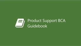 Thumbnail for entry Product Support Business Case Analysis Guidebook