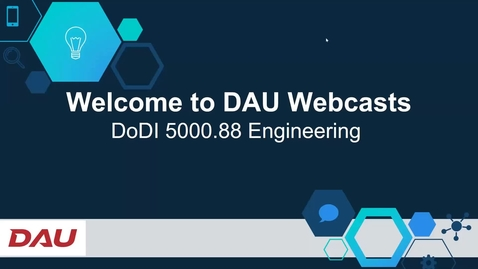 Thumbnail for entry Adaptive Acquisition Framework DoDI 5000.88 Engineering 1.5.21
