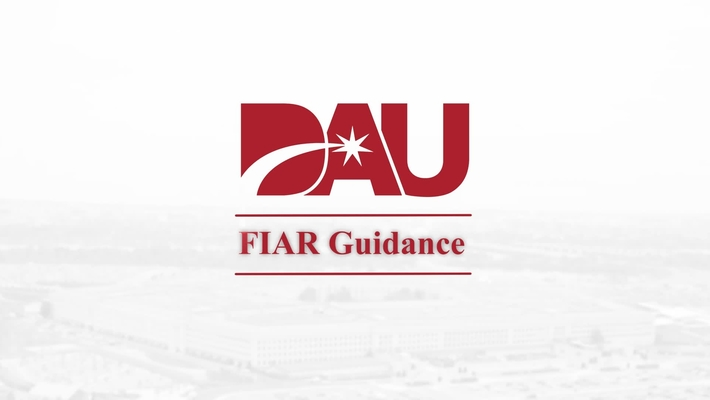 FIAR  Methodology & Roles and Responsibilities