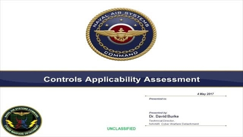 Thumbnail for entry NAVAIR Cyber Controls.v2 (Basic Small - WEB MBL (H264-600))