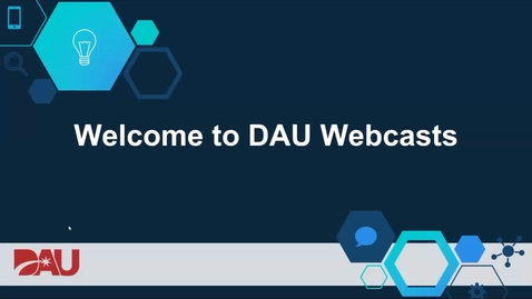DAU Webcasts: What can the DAU Alexa Skill do for you 5.5.20