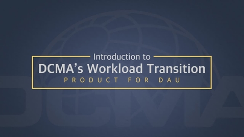 Thumbnail for entry Supplier Workload Transfers and Consolidations Lessons Learned
