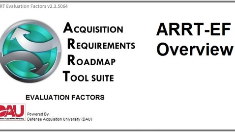 Thumbnail for entry ARRT_EvaluationFactors_OverviewVideo