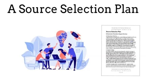 Thumbnail for entry Source Selection Plan