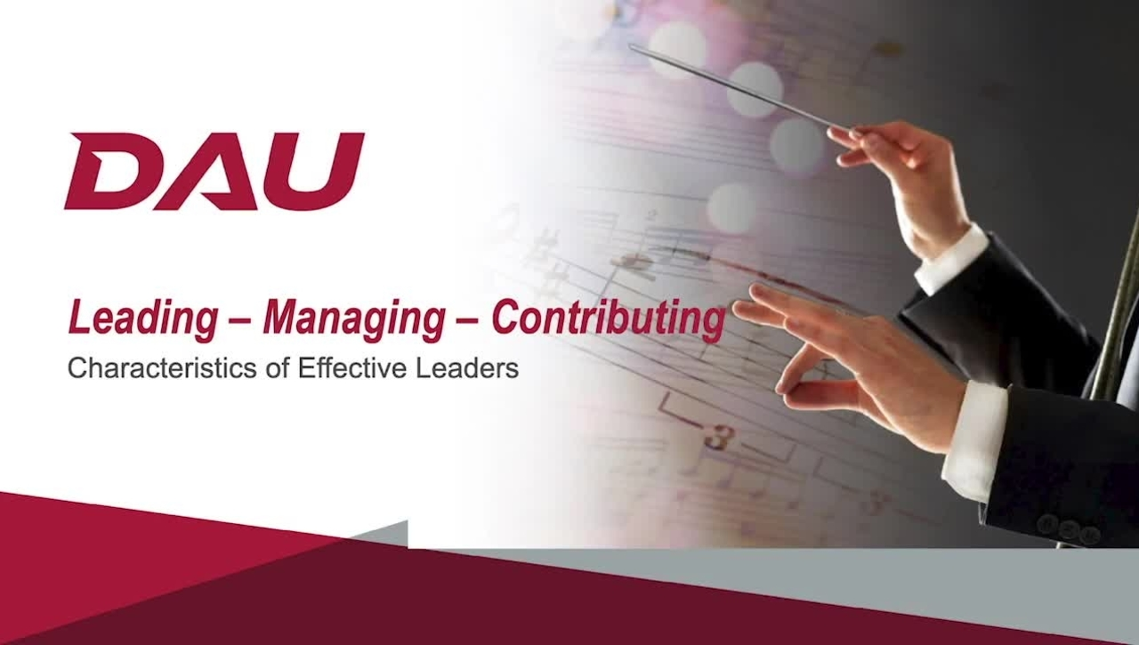 2.0 Characteristics of Effective Leaders
