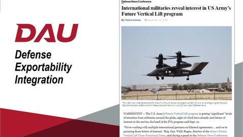 Thumbnail for entry V3 - ACQ 380 Defense Exportability Integration Lesson