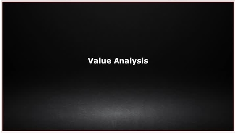 Thumbnail for entry CLC139 Video 6.3 Value Analysis
