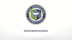 Thumbnail for entry DSCA Video on End Use Monitoring Checks