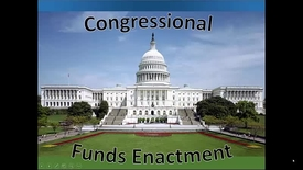 Thumbnail for entry Congressional Funds Enactment