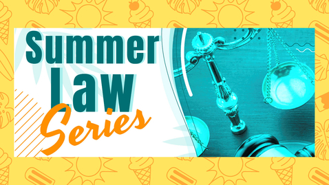 Thumbnail for entry Procurement Integrity - A Summer Law Series Event