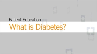 Diabetes Mellitus: An Overview | Cleveland Clinic