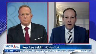 Rep Lee Zeldin To Newsmax Tv Trump Should Persistently Discuss Hunter Biden