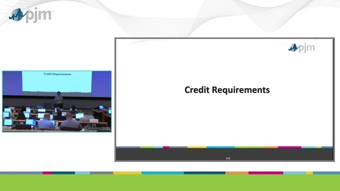 Thumbnail for entry Workshop on PJM ARR & FTR Market- Part 10 - Credit Requirements with Examples