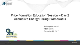 Thumbnail for entry Price Formation Day 2 Training