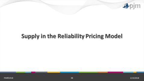 Thumbnail for entry RPM 101: Part 4 - Supply in the Reliability Pricing Model