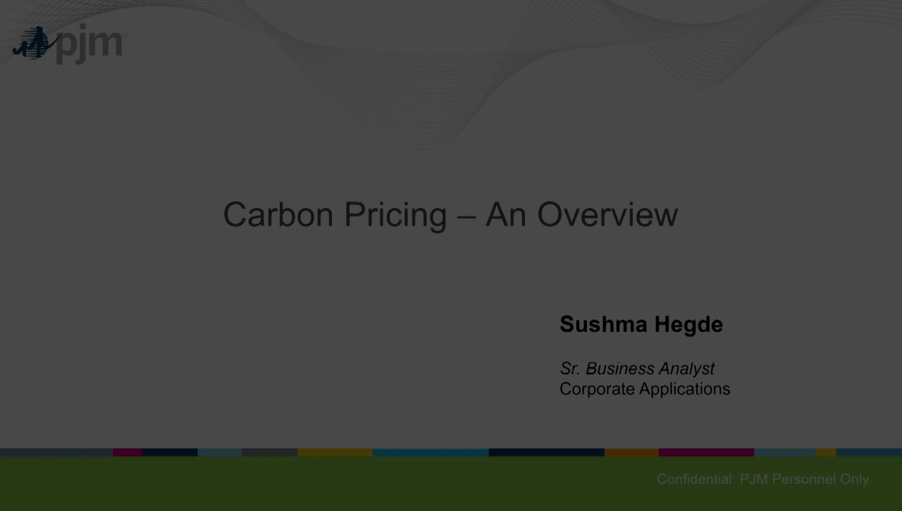 Carbon Pricing 1-21-2020