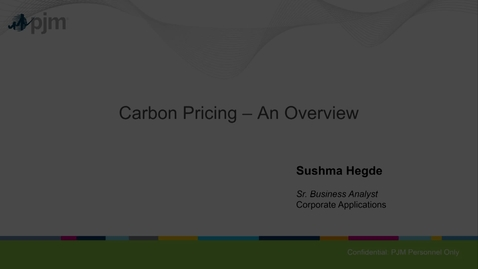 Thumbnail for entry Carbon Pricing 1-21-2020