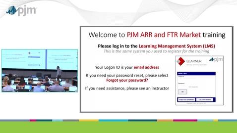 Thumbnail for entry Annual ARR/FTR Training
