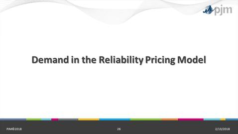 Thumbnail for entry RPM 101: Part 3 - Demand in the Reliability Pricing Model