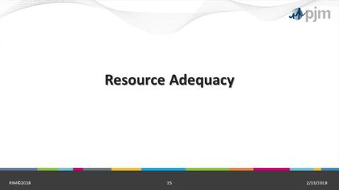 Thumbnail for entry RPM 101: Part 2 - Resource Adequacy