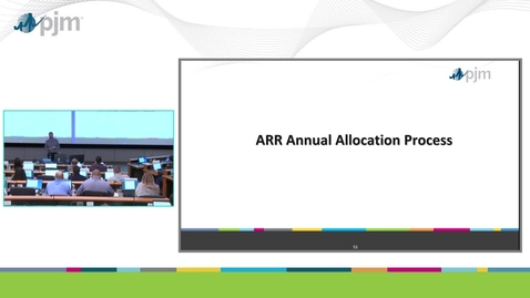 Thumbnail for entry Workshop on PJM ARR & FTR Market- Part 5 - ARR Annual Allocation Process
