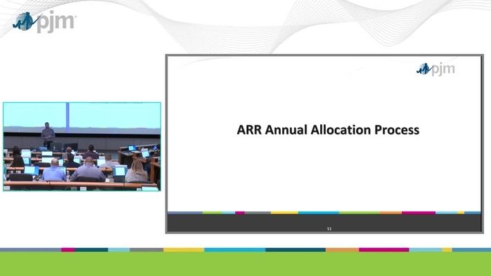 Workshop on PJM ARR & FTR Market- Part 5 - ARR Annual Allocation Process