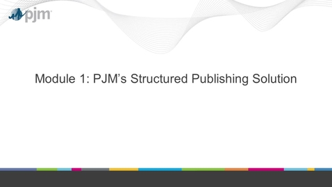 Thumbnail for entry Structured Publising