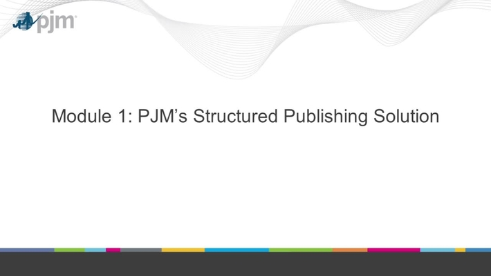 Structured Publising