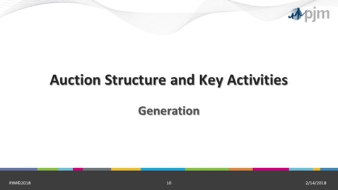 Thumbnail for entry RPM 201: Part 1 - Auction Structure and Key Activities - Must Offfer, Offer Caps, MOPR