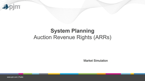 Thumbnail for entry Planning 201 - Auction Revenue Rights