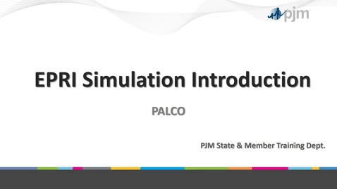 Thumbnail for entry Simulation Instructions PALCO